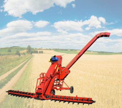 Mechanical grain loaders